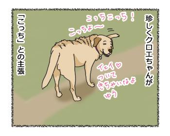 羊の国のラブラドール絵日記シニア!! 乙女のGPS4コマ漫画2