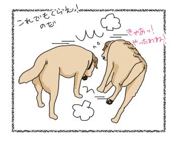 羊の国のラブラドール絵日記シニア!!ほほえまおしくらまんじゅう3