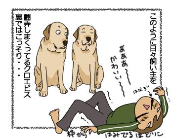 羊の国のラブラドール絵日記シニア!!打ち合わせ3