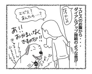 羊の国のラブラドール絵日記シニア!! 4コマ漫画「今度はエビス!」3