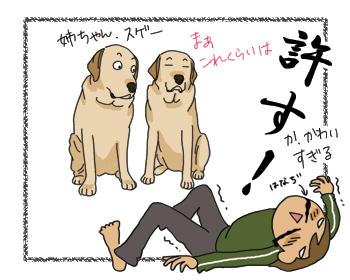 羊の国のラブラドール絵日記シニア!! 女子力炸裂犬漫画4