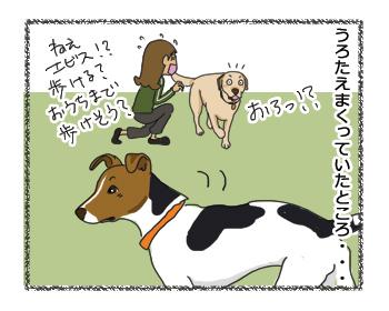 羊の国のラブラドール絵日記シニア!! 同情するなら・・・?4コマ漫画3