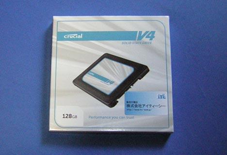 SSD Crucial V4 化粧箱