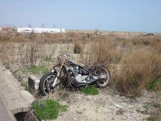 バイク...