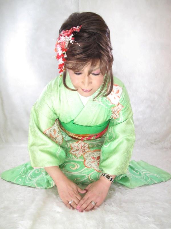 緑振袖ご挨拶(3)