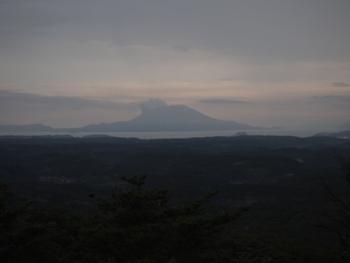 22日の桜島