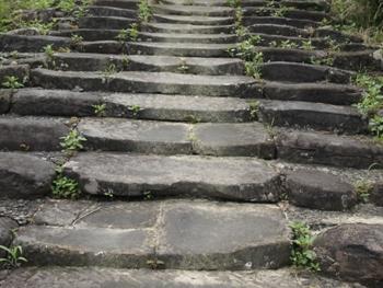 八丁坂の石段