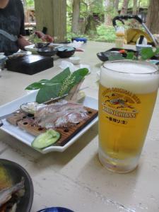 2012 8月鮎料理「渓流荘」 047