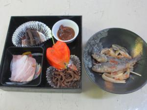 2012 8月鮎料理「渓流荘」 040