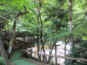 2012 8月鮎料理「渓流荘」 071