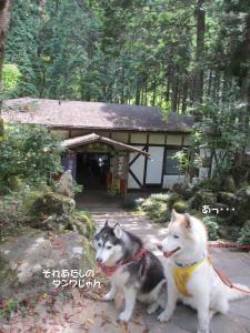 2012 8月鮎料理「渓流荘」 091B