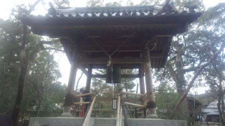 金閣寺 鐘つき堂