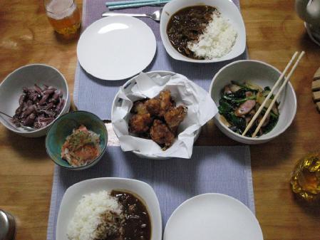 03晩御飯