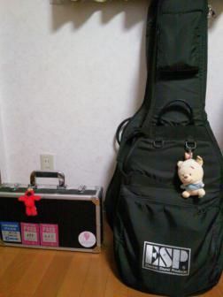 ①ギターケース