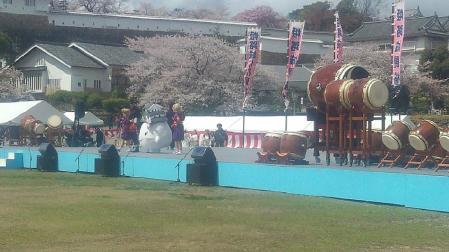 003姫路城桜