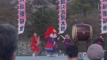 014姫路城桜