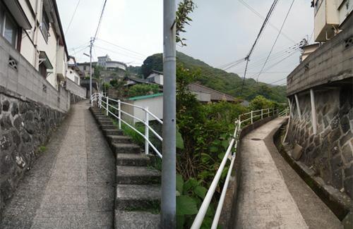 三川町の細道1