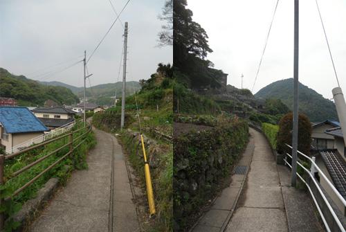 三川町の細道2