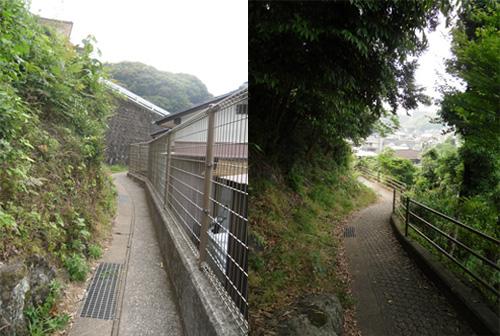 三川町の細道4