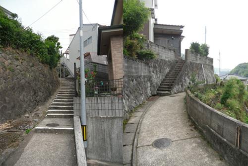 三川町の細道6