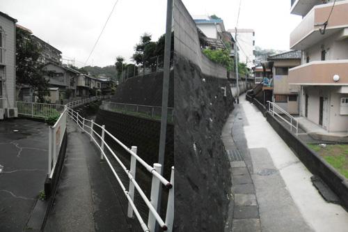 雨の細道1