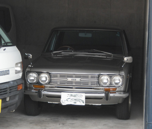 久々の旧車、510発見!