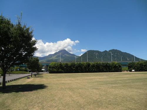 アリーナからの平成新山