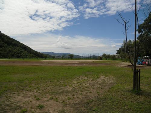 一番近所の片淵運動公園。