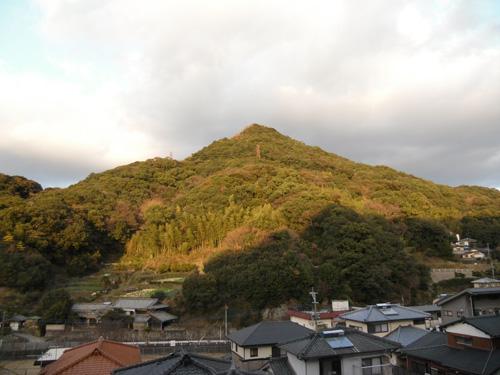 山と夕焼け2