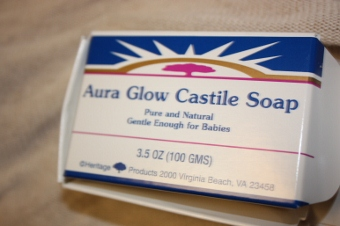 Heritage Products, Aura Glow Castile Soap, 3.5 oz (100 g)