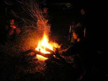焚き火~1