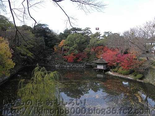 紅葉と紅葉渓庭園(もみじだにていえん)