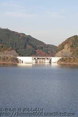 大阪最大規模の滝畑ダム
