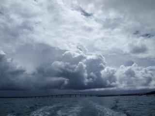 20120914台風近づく空模様