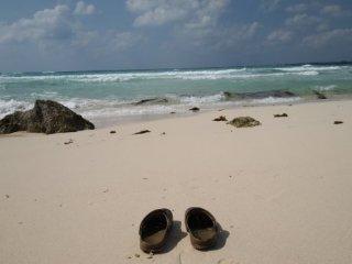 20120917砂山ビーチサンダル