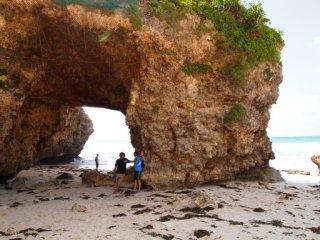 20120917砂山ビーチ酒井さんと私