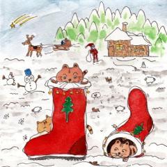 サンタの長靴