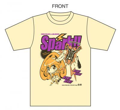 ピースサンダーTシャツテンプレート別カラー2