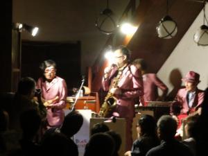 2012年10月6日蔵コンサート(Black Velvets in鳥居醤油店)