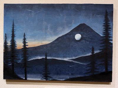 落山有明月