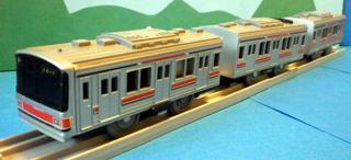東急目黒線3000系プラレール ②