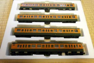 TOMIX 113系2000番台 HOゲージ4両基本セット