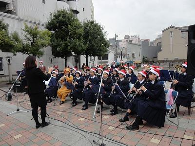 伊丹クリスマスマーケット15日ステージ