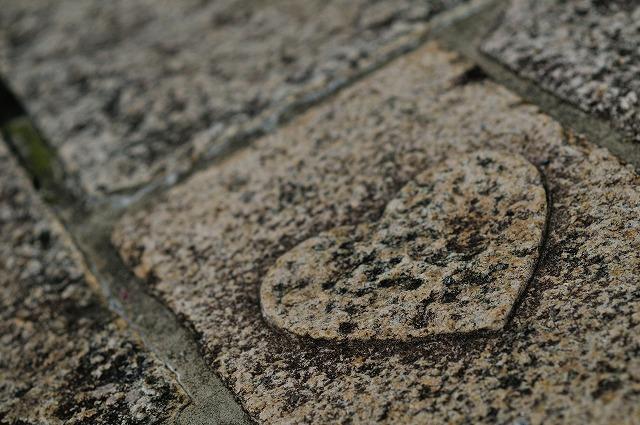 出会いの石畳