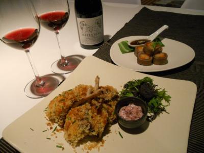 Lamb (Ume) & Pinot (Hazledine)