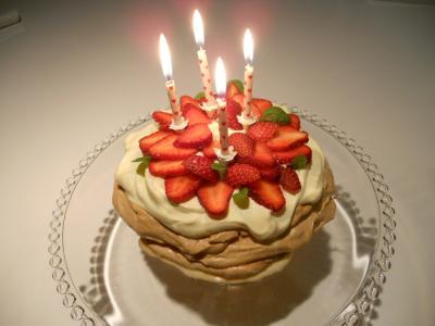 Birthday candle Pav.