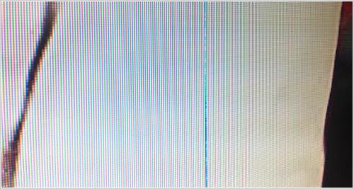 我が家の液晶TVに縦線が・・・