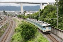 鉄道写真にチャレンジ!-115系信州色