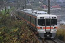 鉄道写真にチャレンジ!-313系岡谷駅発