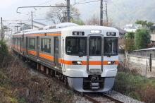 鉄道写真にチャレンジ!-313系川岸駅発